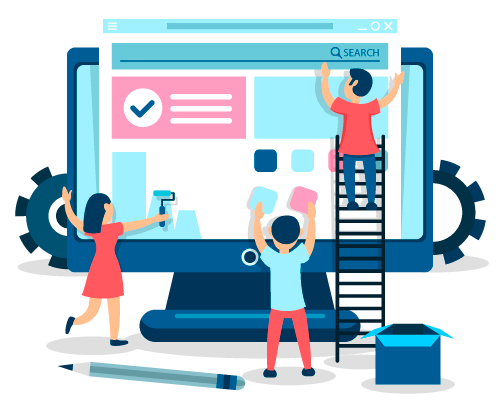 Website development done by the website designing experts at best web development company in Udaipur