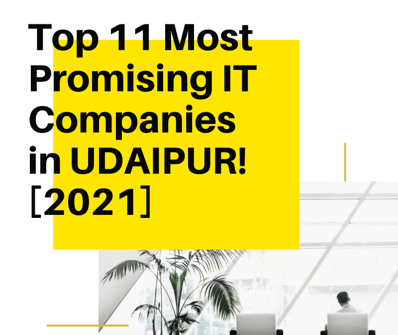 Top 11 Most Promising IT Companies in Udaipur [2021]