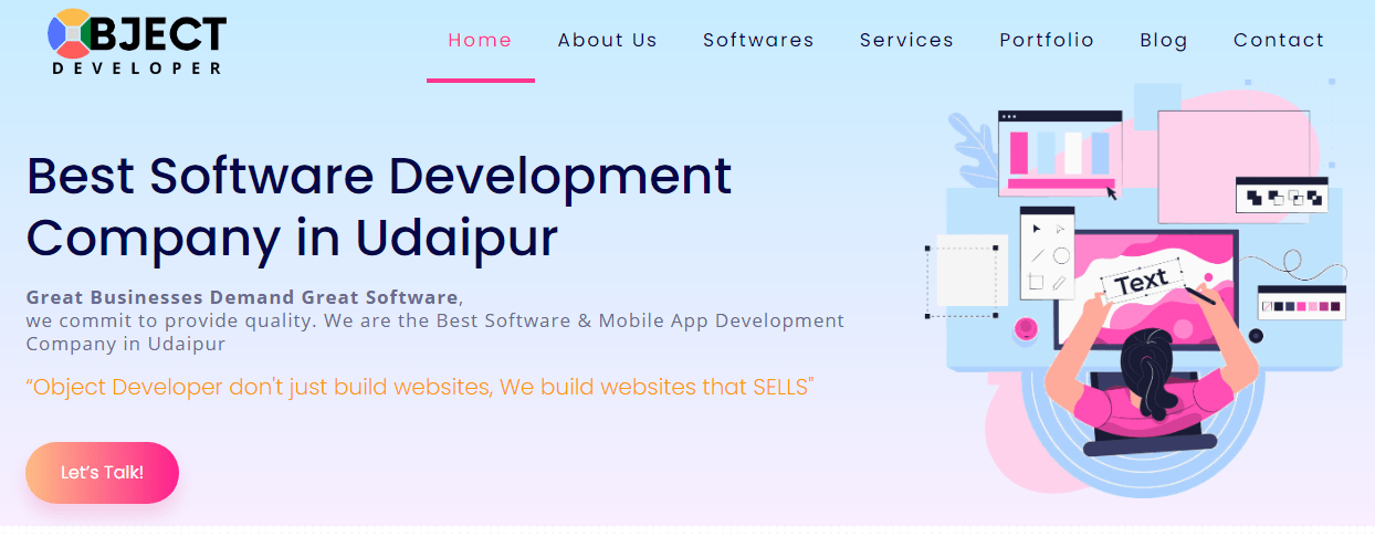 IT company in Udaipur - Object Developer