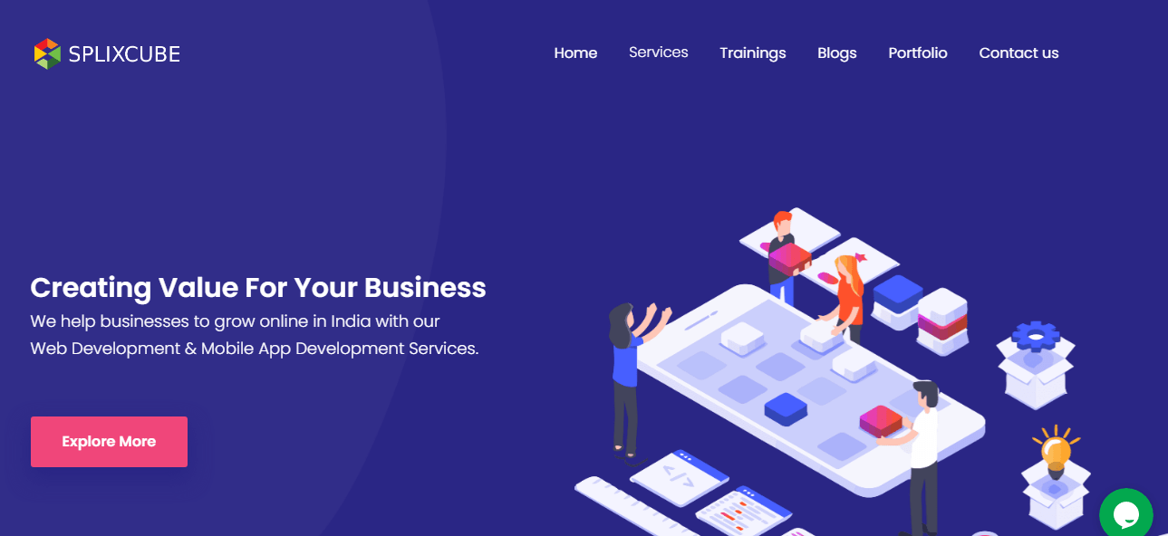 IT Company in Udaipur - SplixCube Technologies