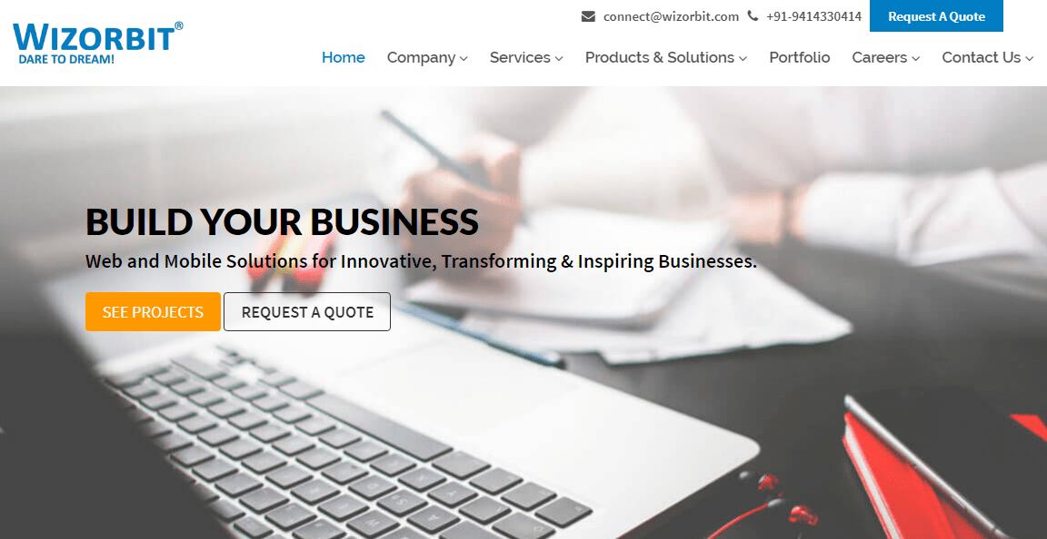 Best IT Company in Udaipur - Wizorbit